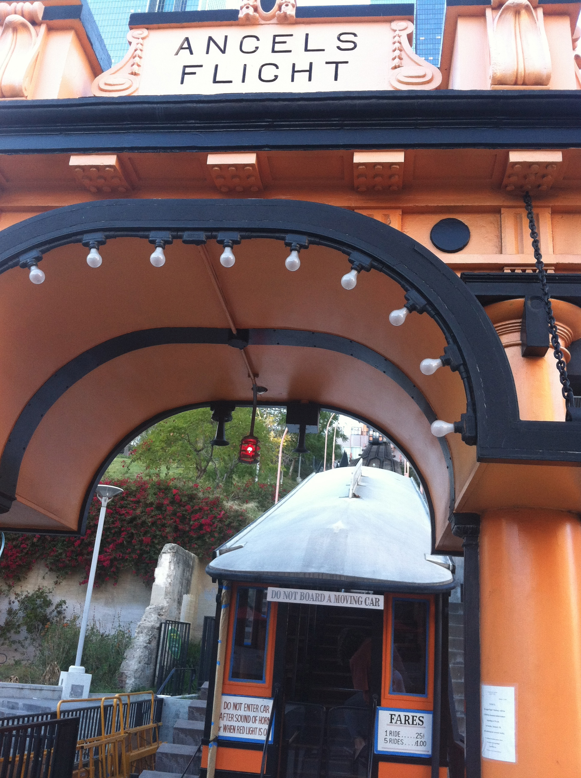 Angel's Flight Railroad Los Angeles