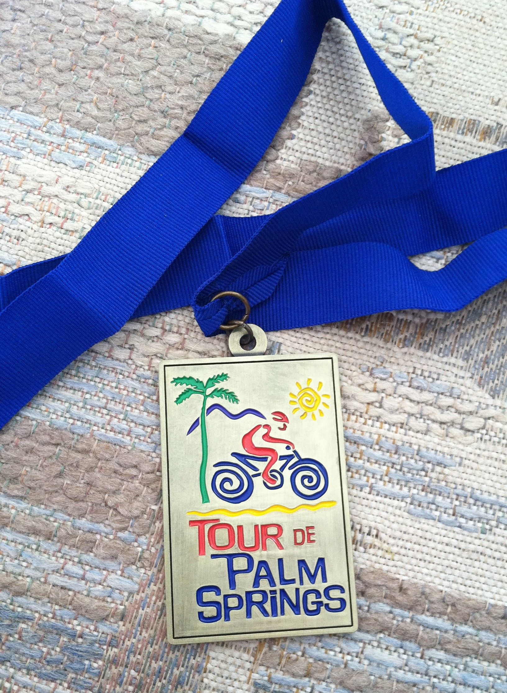 Tour de Palm Springs Medal 2008 (in 2012)