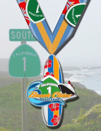 Beach Cities Challenge Medals