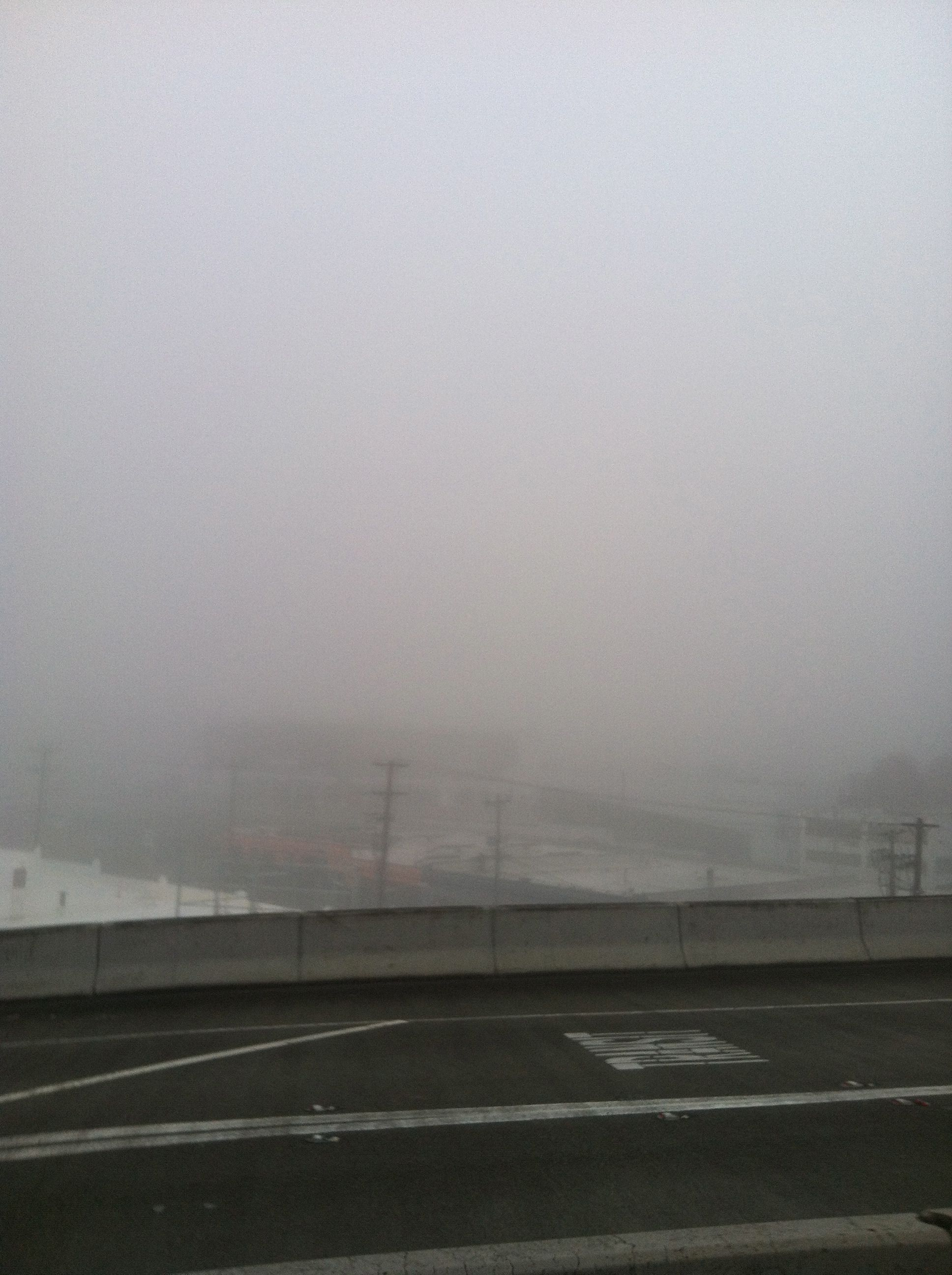This has pretty much nothing to do with this post, but it was awesomely foggy while I was in Seattle (on main half marathon day).