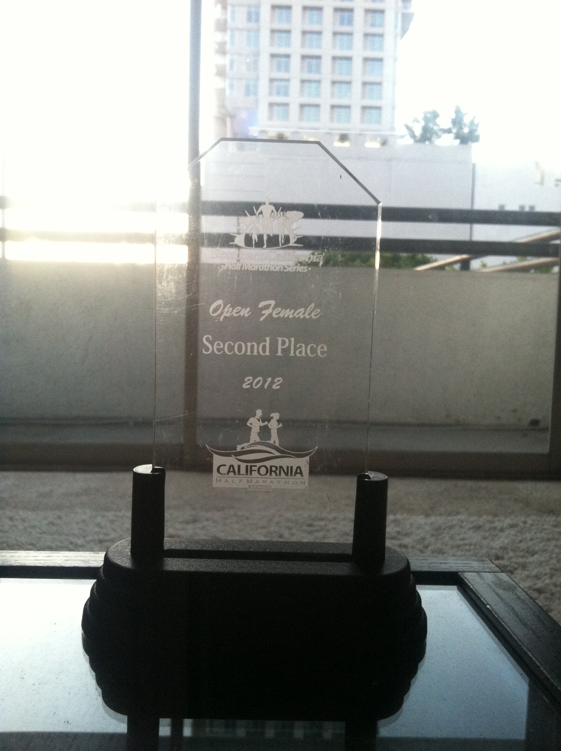 So Cal open female 2nd place