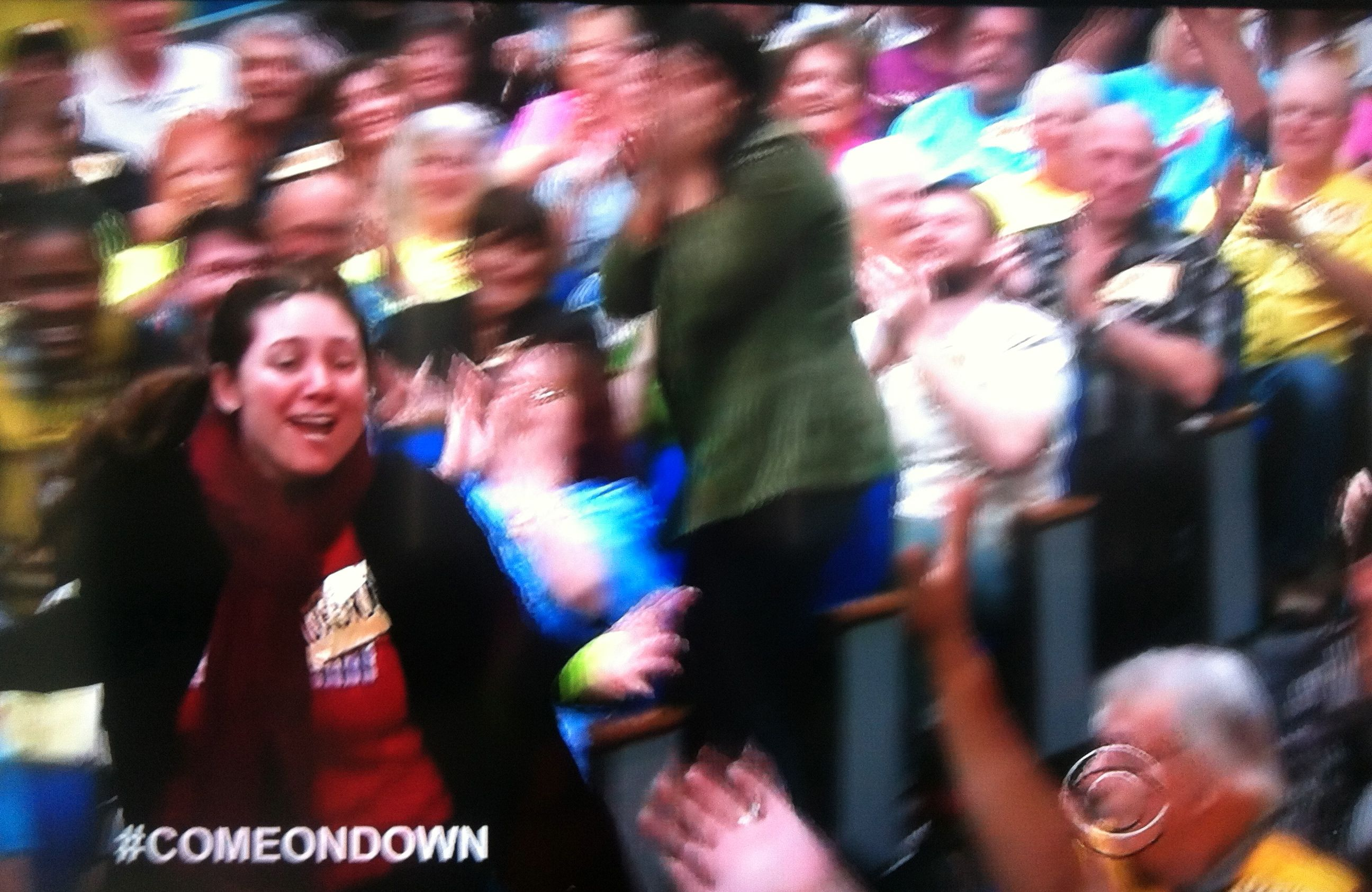 Aurora De Lucia coming on down to contestant's row on The Price is Right