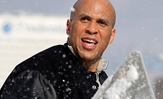 (Picked a picture of a really responsible guy - that'd be Mayor Cory Booker, of course.)