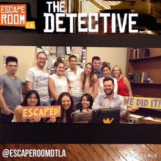 Aurora and her team having escaped