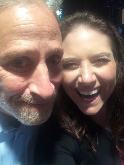 Jon Stewart and his best friend Aurora